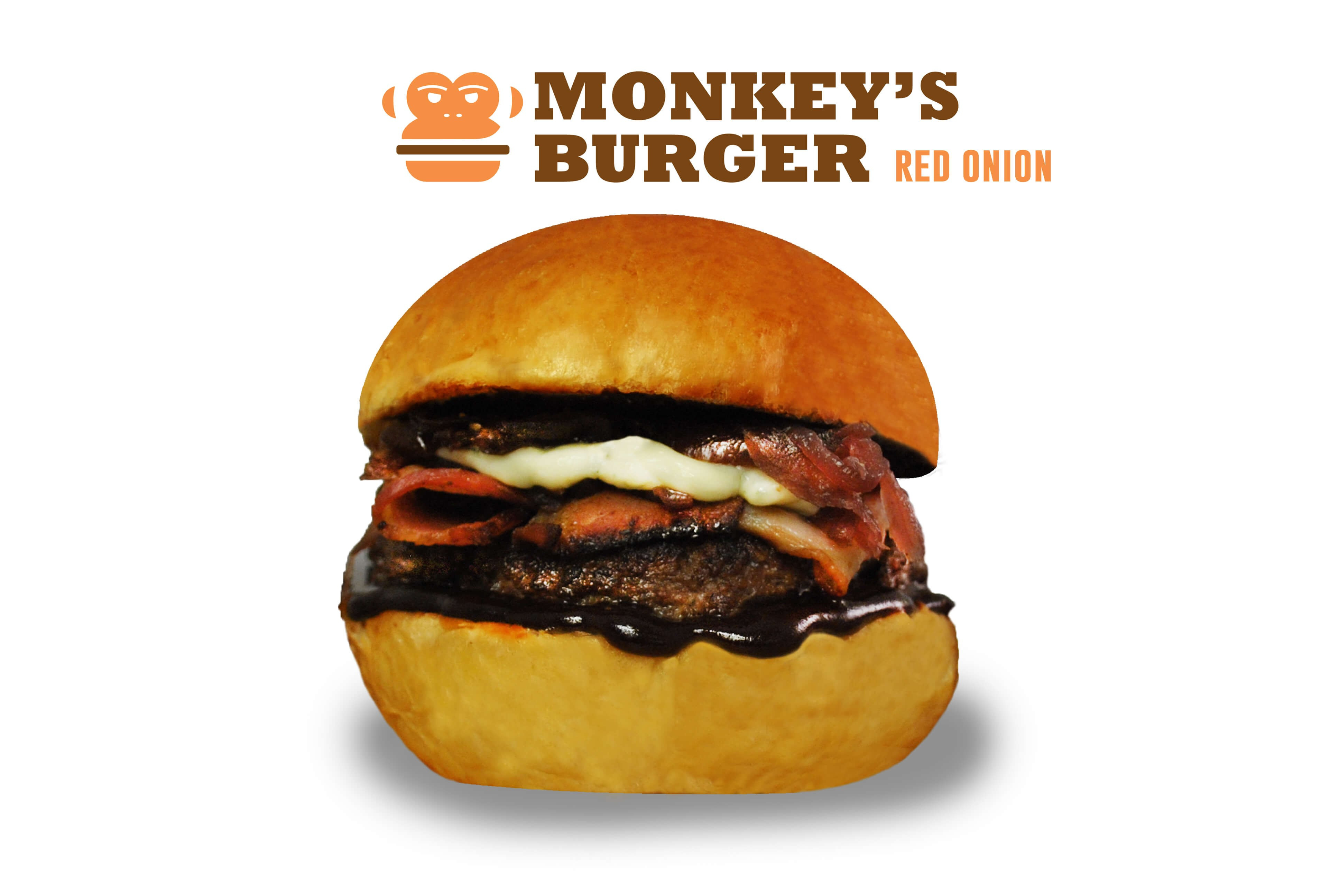 Red Onion Burger Szendvics