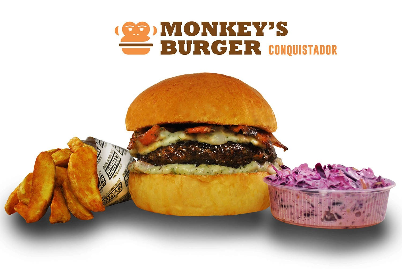 Conquistador Burger Menü