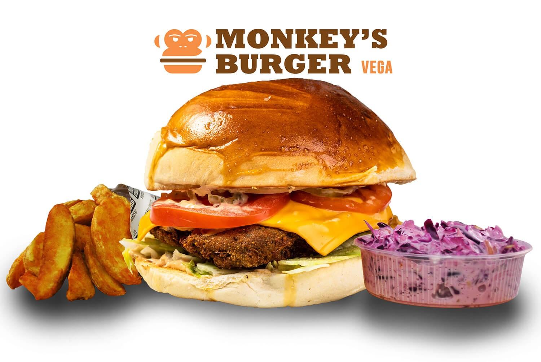 Vegaburger Menü