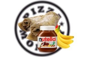 Nutellás-banános palacsinta