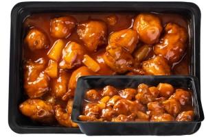 Édes-savanyú bundás csirke