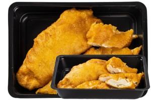 Illatos omlós csirke körettel