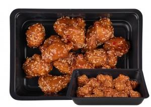 Kínai szezámmagos csirke választható körettel
